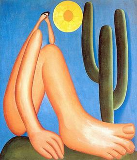 Abaporu, fruto da semana de arte moderna - o Brasil precisa olhar mais para fora