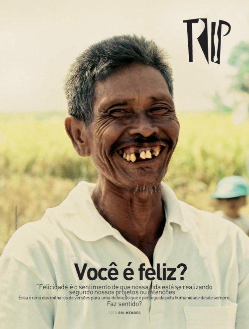 Você é feliz? - Capa clássica da revista Trip